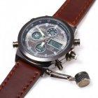 Мужский армейские водонепроницаемые часы AMST brown - изображение 1