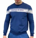 Свитшот мужской 7027 Marguez синий M - изображение 3