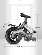 Электро Велосипед GDANNY S9 (Серый) - изображение 2