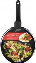 Сковорода Ardesto Gemini Gourmet с крышкой 24 см Черная (AR1924GL) - изображение 7