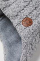 Зимняя шапка с завязками H&M 0739933 0 52-54 см Серая (2000001740569) - изображение 2