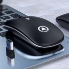 Миша бездротова SKY (A2-B) Black - зображення 3