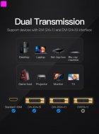 Переходник Vention HDMI F - DVI M Черный (ECDB0) - изображение 4