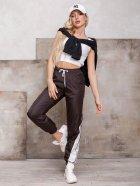 Спортивные штаны ISSA PLUS SA-124 M Темно-коричневые (2001163829932) - изображение 4