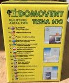 Вентилятор витяжний Домовент 100 Тиша (на підшипнику, тихий) - изображение 8