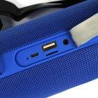 Колонка портативна стерео вологозахищена Bluetooth Hopestar H39 Blue - зображення 4