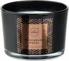 Ароматическая свеча из натурального воска Aroma Home Elegance Mascarade Masai 115 г (5902846835189) - изображение 1