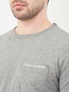 Футболка Calvin Klein Jeans 10490.3 S (44) Серая - изображение 4