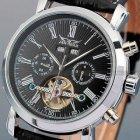 Чоловічі годинники Jaragar Silver Star - зображення 3
