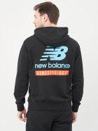Худі New Balance Ess Field Day MT11514BK S Чорне (194768544781) - зображення 2