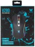 Миша Rapoo V280 USB Black - зображення 4