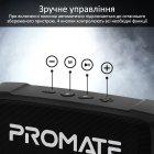 Акустична система Promate OutBeat 6 Вт Black (outbeat.black) - зображення 5