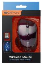 Миша Canyon CNS-CMSW01P Wireless Purple/Black - зображення 5