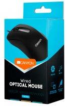 Мышь Canyon CNE-CMS2 USB Black - изображение 3