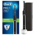Електрична зубна щітка ORAL-B Braun Pro 750 Black (4210201219224) - зображення 1