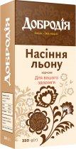 Упаковка насіння льону харчового Добродія 350 г х 3 шт (4820182202612) - зображення 2