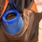 Портативная Bluetooth колонка T&G 117, влагостойкая c функцией громкая связь, FM радио, синяя - изображение 4