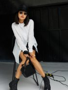 Сорочка Karree Джуді P1925M6094 S Біла (karree100012955) - зображення 5