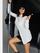 Сорочка Karree Джуді P1925M6094 S Біла (karree100012955) - зображення 6