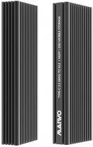 Зовнішня кишеня Maiwo для M.2 SSD NVMe (PCIe) / M.2 SSD SATA — USB 3.1 Type-C (K1687P2) - зображення 4