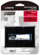 Kingston A2000 250GB NVMe M.2 2280 PCIe 3.0 x4 3D NAND TLC (SA2000M8/250G) - изображение 3