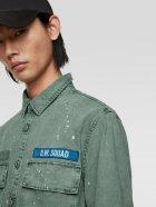 Джинсова куртка Zara 8062/312/519-ACVR S М'ятна (DD3000002815104) - зображення 4