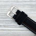 Часы наручные AMST 3022 Silver-Black Fluted Wristband - изображение 5