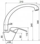 Кухонний змішувач GF (BLA)/S-03-012F - зображення 2