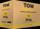 Кокосове вугілля Tom Coco Gold C22 1кг - зображення 4