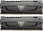Оперативна пам'ять Patriot DDR4-3200 16384 MB PC4-25600 (Kit of 2x8192) Viper Steel (PVS416G320C6K) - зображення 1