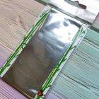 Фольга для нігтів Tishka 9470 (4*100см) срібло - зображення 1
