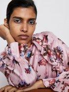 Блузка Zara 1932-224-330-AASC S Розовая (3000002728657) - изображение 6
