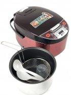 Мультиварка пароварка фритюрница BITEK 6 литров медленноварка 1500 Вт лучшая домашняя мощная помощница на кухне BT00033B - изображение 3