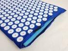 Килимок масажний Аплікатор Кузнєцова Релакс 60х40 см OSPORT (KZ-1251) Синій - зображення 4
