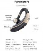 Гарнитура Bluetooth Earbuds V6 Silver - изображение 10