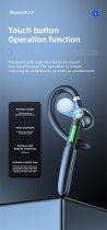 Гарнітура Bluetooth Kebidu ME-100 Black - зображення 10