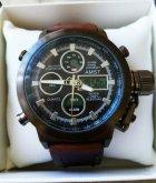 Наручные армейские часы АМСТ (AMST) коричневые - изображение 7