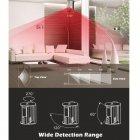 Автономний датчик руху з вбудованою сиреною 100 дБ Doberman Security SE-0104 (EG-100177) - зображення 5