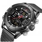 Чоловічі годинники Naviforce Tesla Black NF9153 - изображение 1