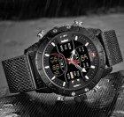 Чоловічі годинники Naviforce Tesla Black NF9153 - изображение 3