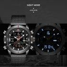 Чоловічі годинники Naviforce Tesla Black NF9153 - изображение 5