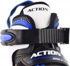 Роликовые коньки раздвижные Action Arlo размер 37-40 Blue (PW-126B-79/Blue/37-40) - изображение 2