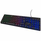 Профессиональная проводная игровая клавиатура с RGB подсветкой Atlanfa AT-6300 (6300) - изображение 3