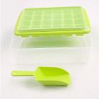 Форма для льда Kitchenio с контейнером и лопаткой Салатовая (2000992406338) - изображение 3