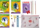 Набор Бумажный бум для творчества ZiBi с бумагой и картоном в силиконовой папке (ZB.9973) - изображение 2