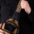Тактическая сумка-кобура для скрытого ношения Scout Tactical EDC «Tac-box» Cyot-black - изображение 7