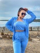 Спортивний костюм DNKA р41476 42-44 Блакитний (2000000572246_ELF) - зображення 2