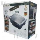 Гриль электрический для дома для стейков прижимной Lexical 2200W (LSM-2507) - зображення 7