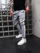 Мужские спортивные штаны Асос BD2356 рXL светло-серые - изображение 1
