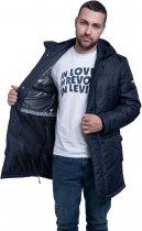 Куртка Riccardo Лонг 3 S (46) Синяя (ROZ6206101655) - изображение 4